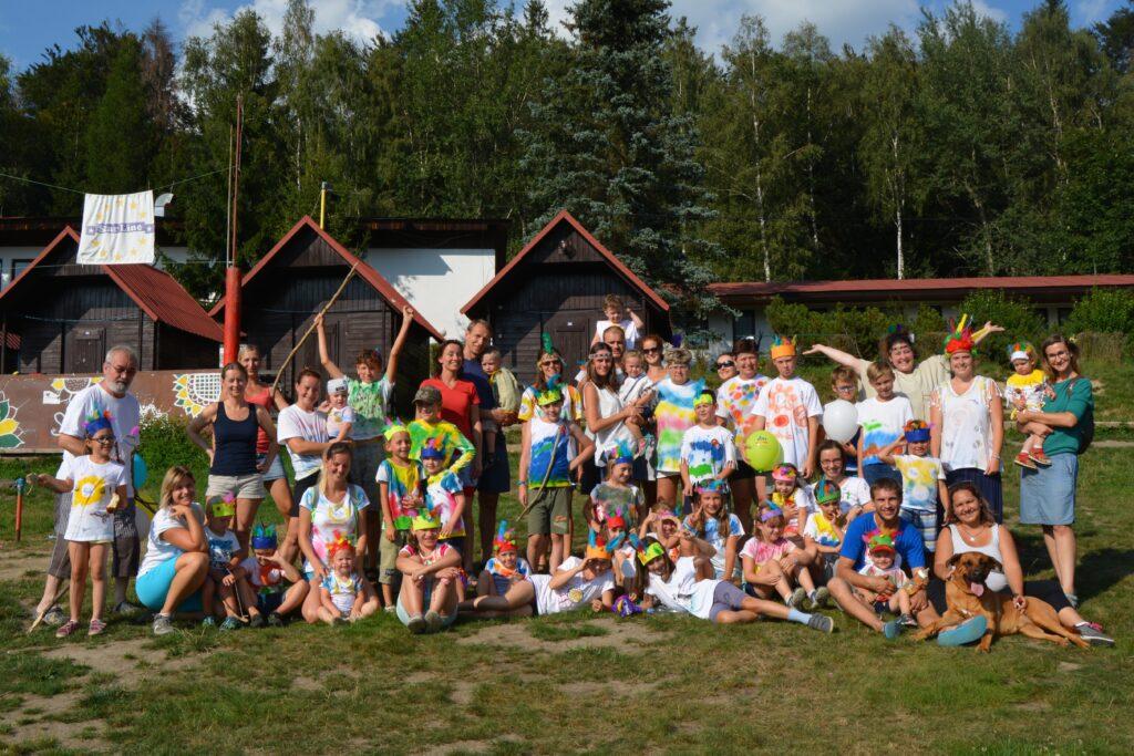 letní tábory pro rodiče s dětmi